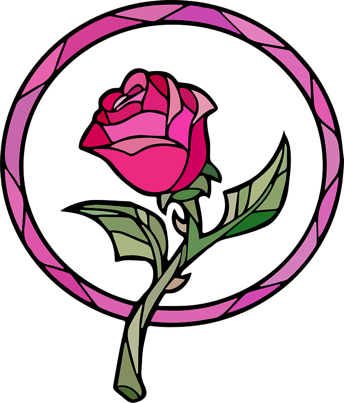 Rose clipart drawn. Disney free on dumielauxepices