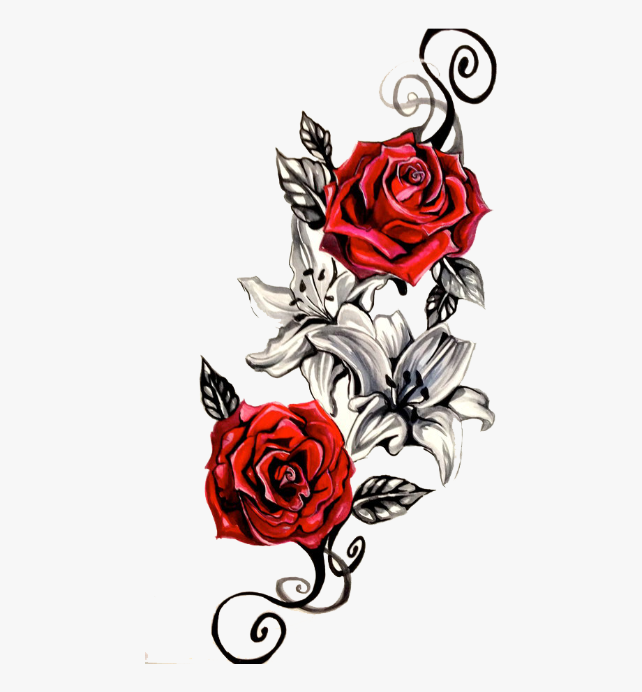 Rose clipart money. Timetome pinterest tattoo png