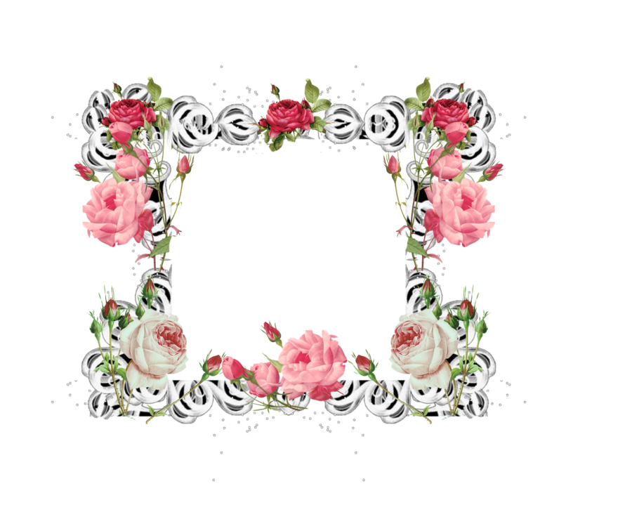 By mysticmorning on deviantart. Rose frame png