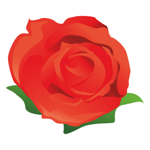 Cartoon flower png. Red rose transparent svg