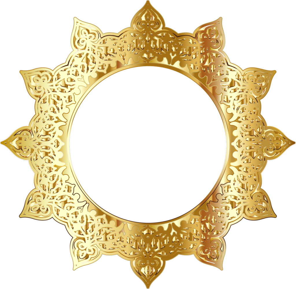 Golden picture peoplepng com. Round frame png