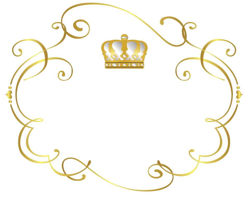 Free crown logo creator. Royal frame png