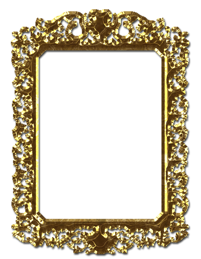 Gold file by theartist. Royal frame png