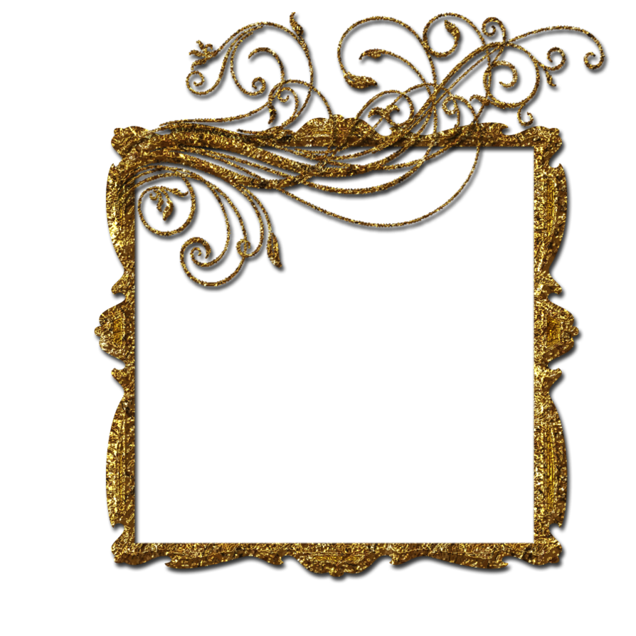 Gold by theartist on. Royal frame png