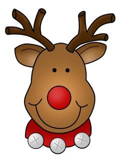 Cute rudolph freebie christmas. Clipart reindeer