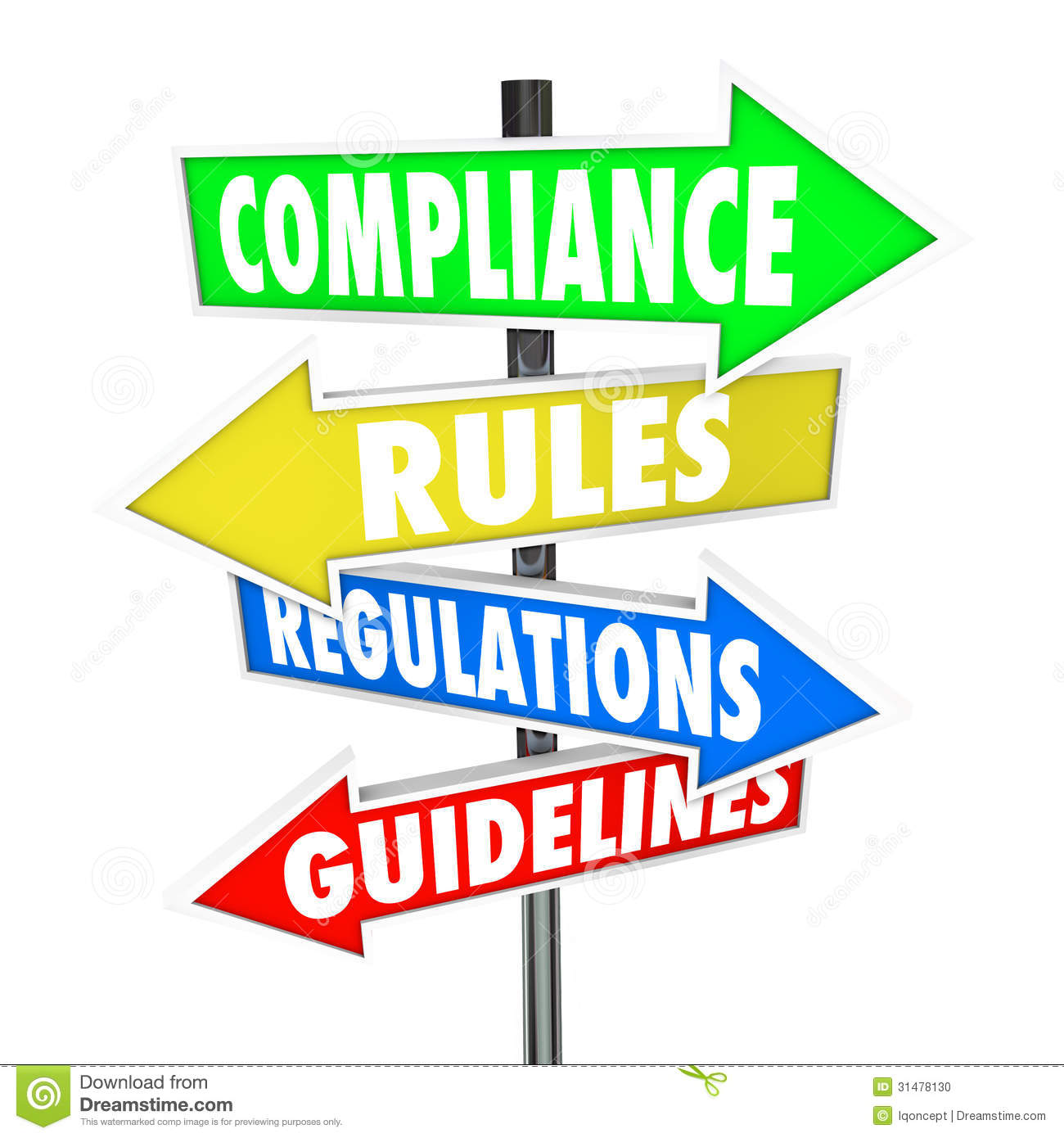 Compliance regulations panda free. Rules clipart