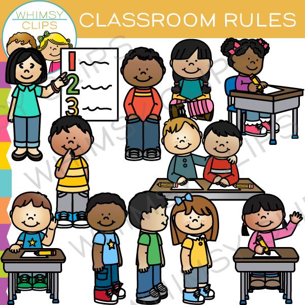 Classroom clip art images. Rules clipart