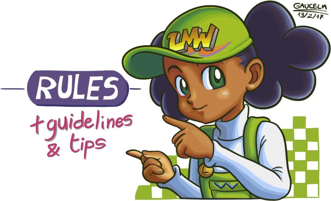 Lmw tan guidelines and. Rules clipart guideline