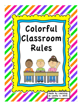 bright lined colorful. Rules clipart rule procedure