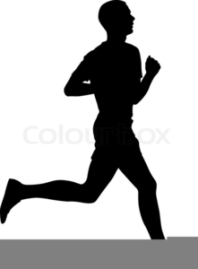 Runner clipart. Track free images at