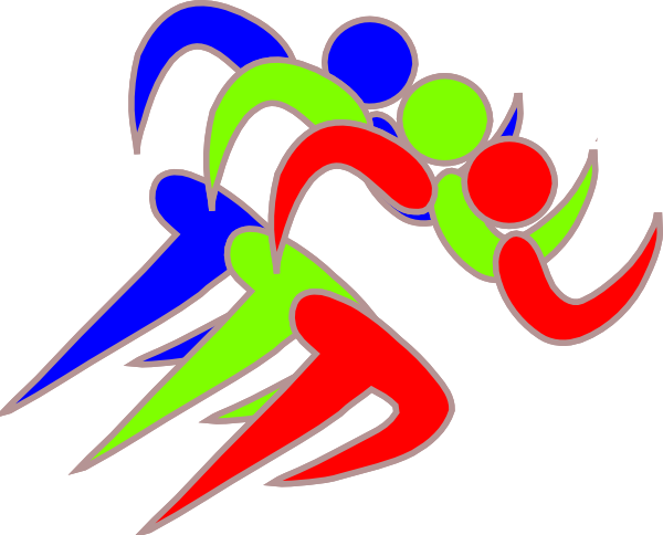 Runners clip art at. Runner clipart
