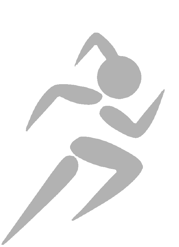 Runner clipart cardio exercise. Iron on reflective transfers