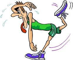 Free cliparts download clip. Tired clipart jogger
