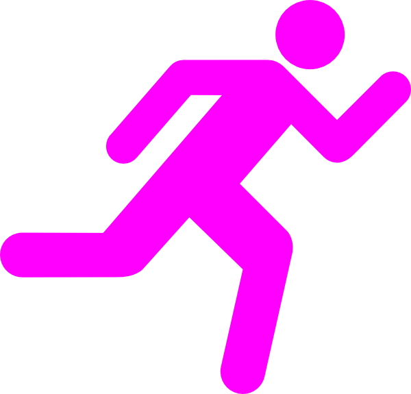 Runner clipart transparent background. Running icon on clip