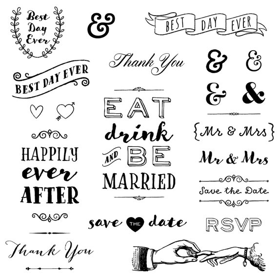 Boho clipart black and white. Rustic wedding clip art