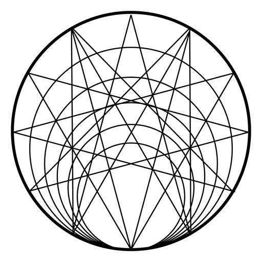 Sacred geometry vector png. From circle transparent svg