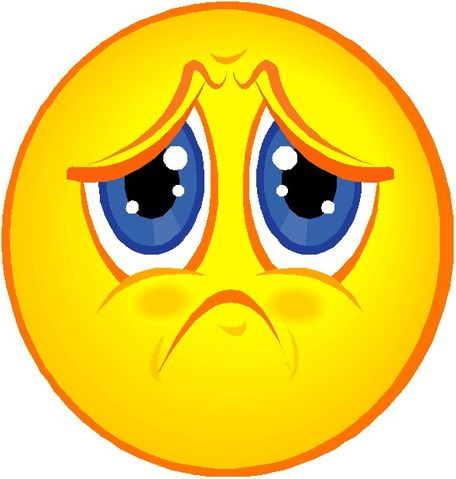 Sad clipart. Image smiley face kine