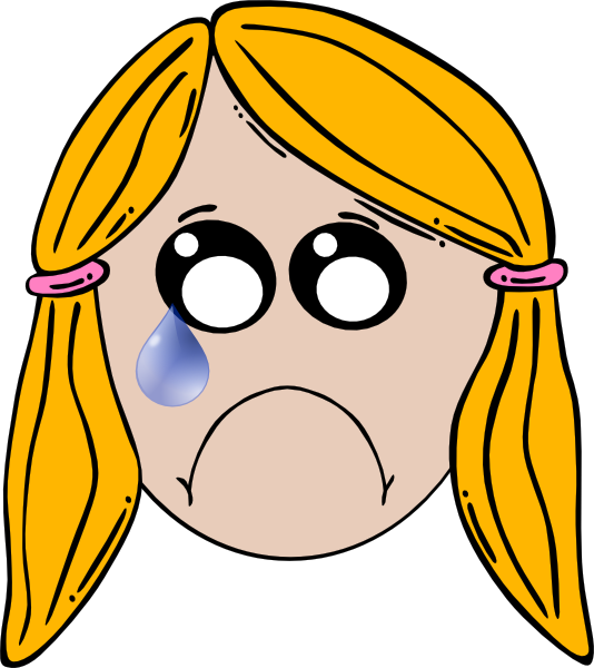Ladybugs clipart angry. Lady cute sad clip