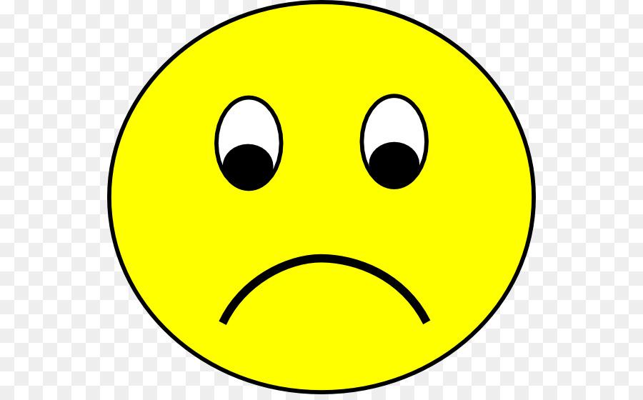 Sad clipart. Smiley sadness emoticon clip