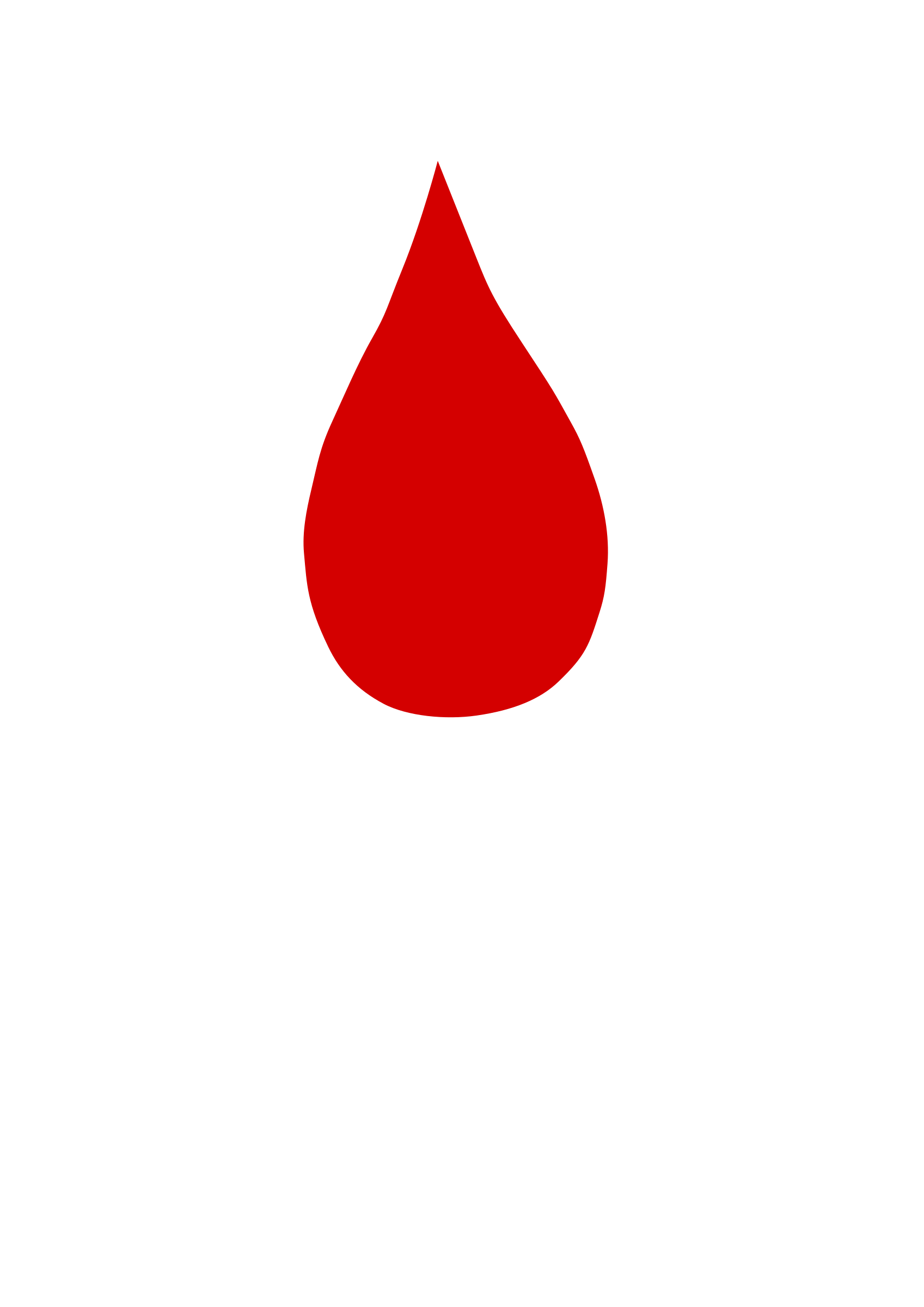 collection of drop. Sad clipart blood