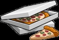 sad clipart pizza