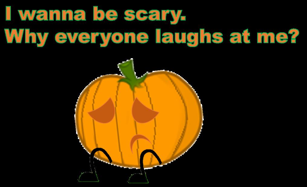 Sad clipart pumpkin. By brownpen on deviantart