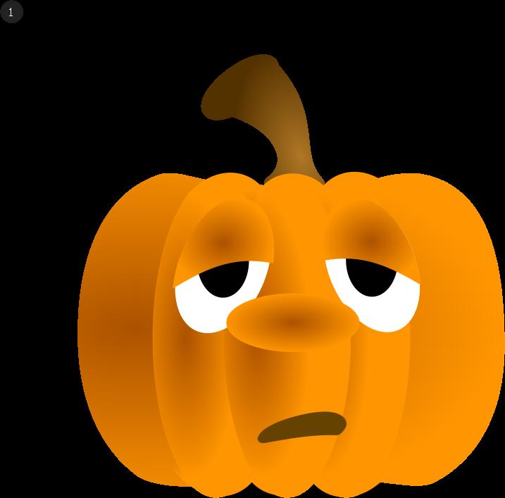 Sad clipart pumpkin. Animation medium image png