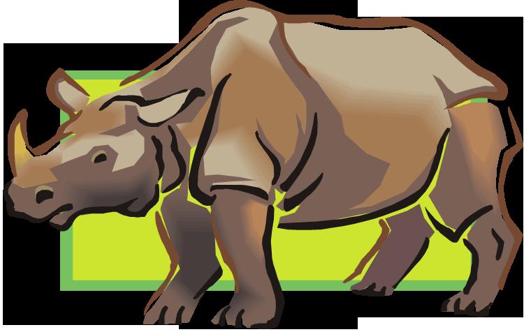 Sad clipart rhino. Free rhinoceros design
