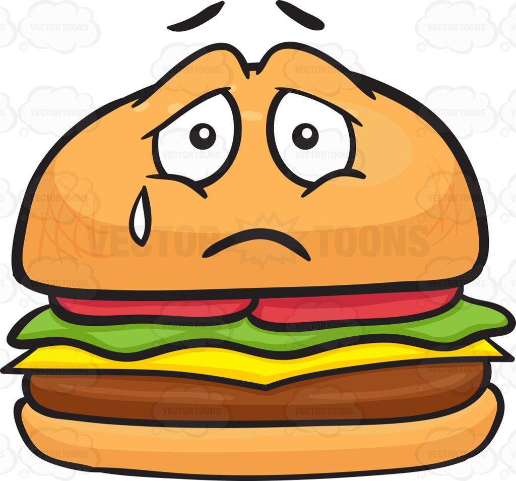 Sadness tear x free. Sad clipart sandwich