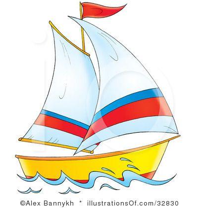 Boat clipart sailing boat. Sail boatclip art free