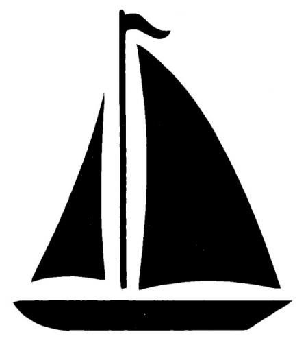 Sailboat clip art at. Boat clipart easy