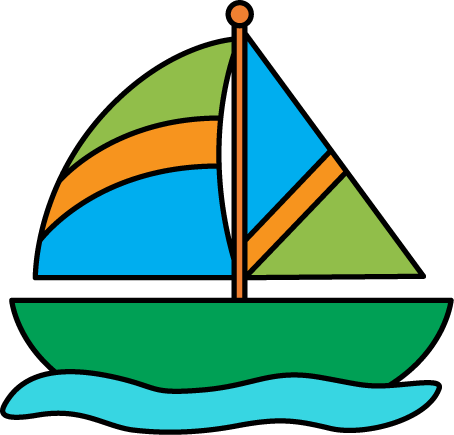 Clip art images in. Sailboat clipart