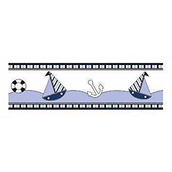 Sailor clipart border. Amazon com little wall