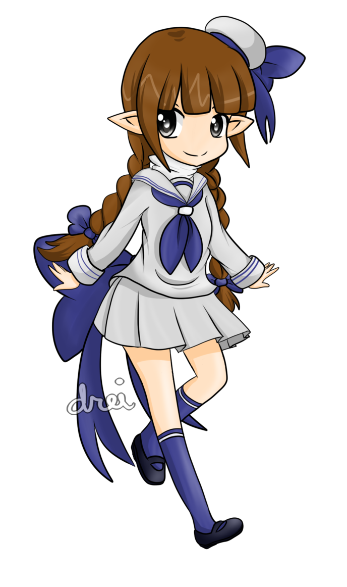 Wadanohara by lilicovian on. Sailor clipart sailor outfit