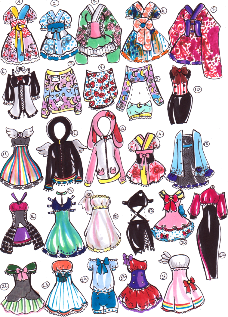 Sold moon outfits by. Sailor clipart sailor outfit