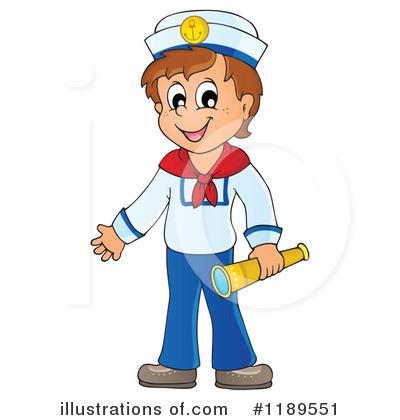 Illustration by visekart . Sailor clipart salior