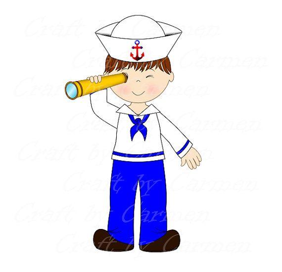 Clip art boat baby. Sailor clipart salior