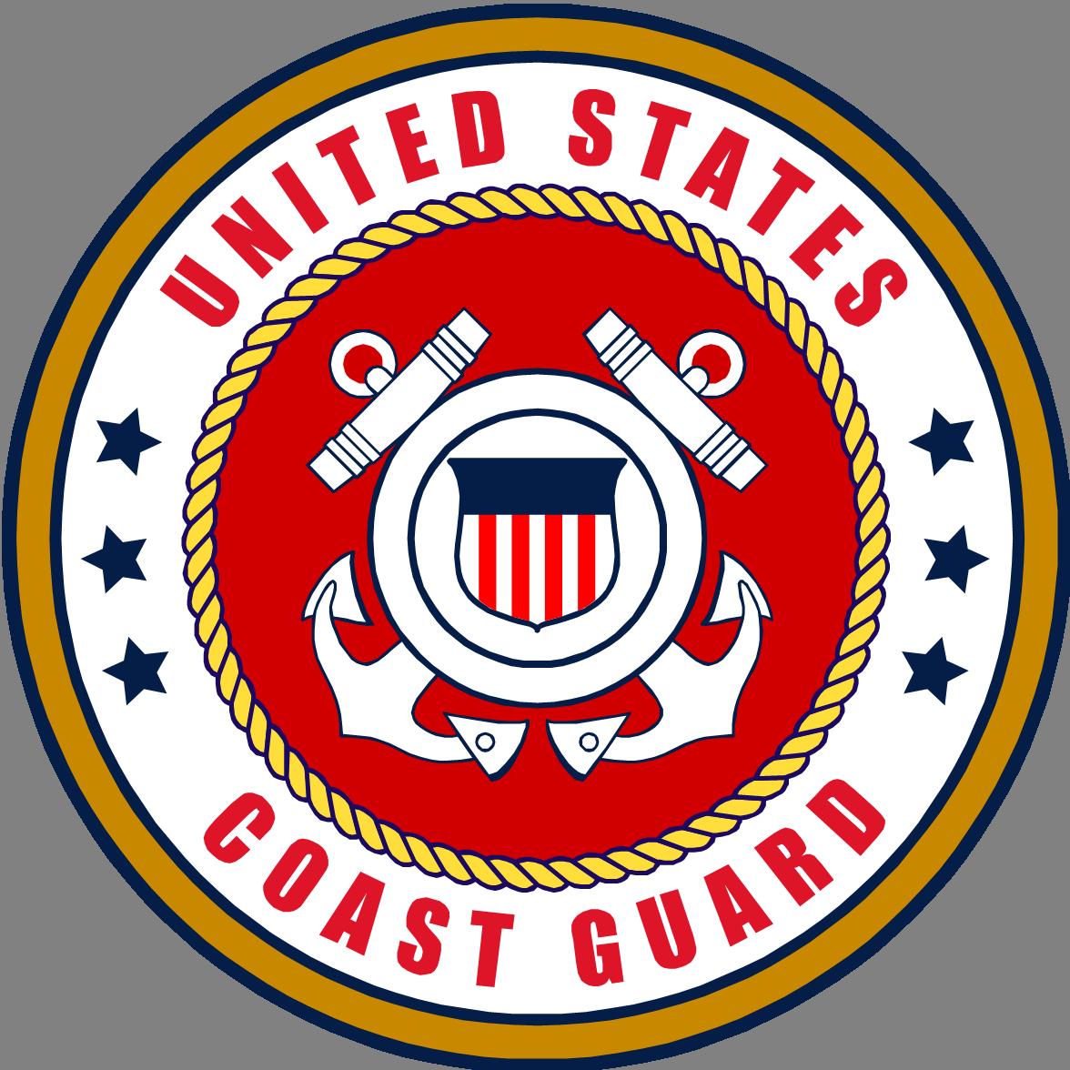 U s emblem coastguard. Sailor clipart uniform coast guard