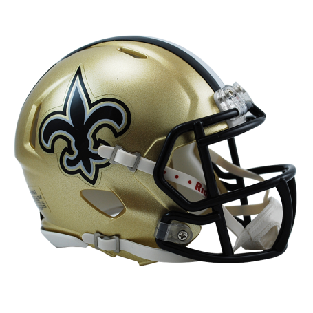Saints helmet png. New orleans replica mini