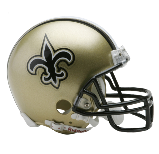 Saints helmet png. New orleans nfl mini