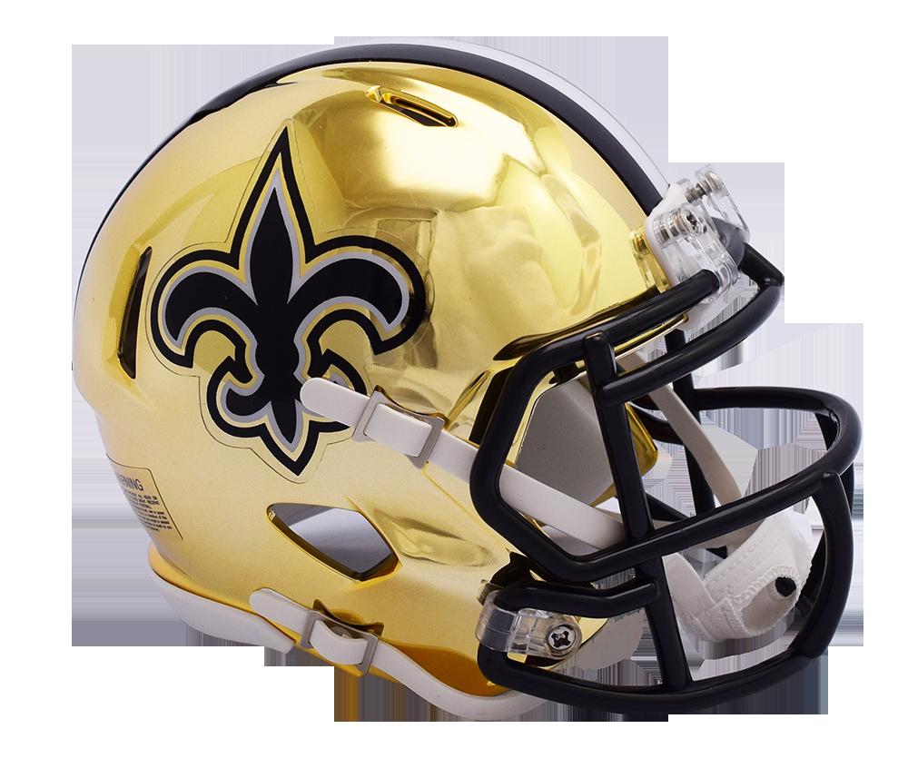 Saints helmet png. Nfl new orleans riddell