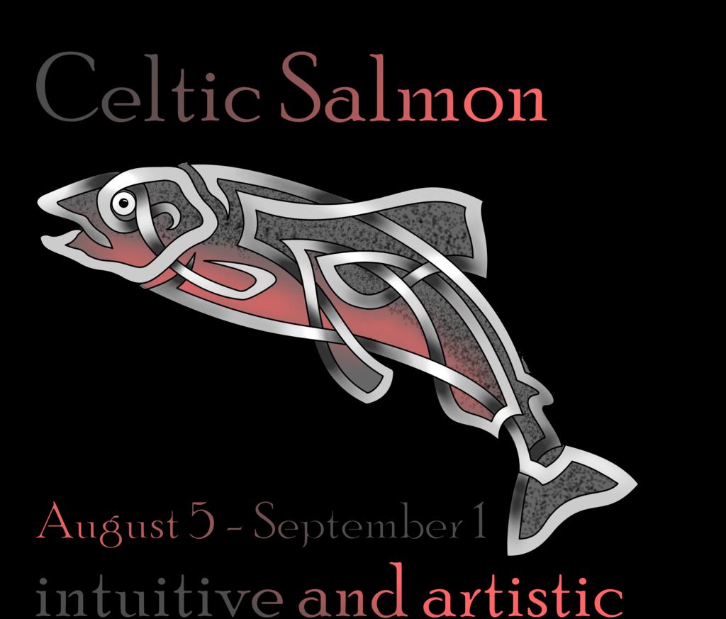 Salmon clipart aboriginal symbol. Celtic by knotyourworld deviantart