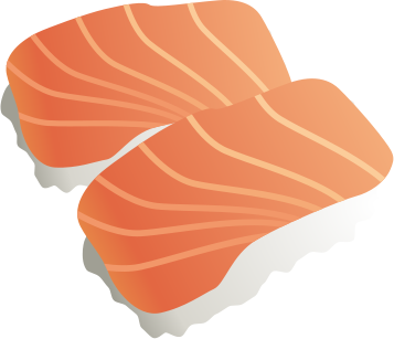 Free page of clip. Salmon clipart salmon sushi