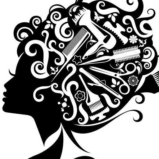Clip art images . Beauty clipart hair stylist