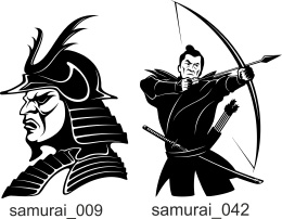 Extreme vector for professional. Samurai clipart