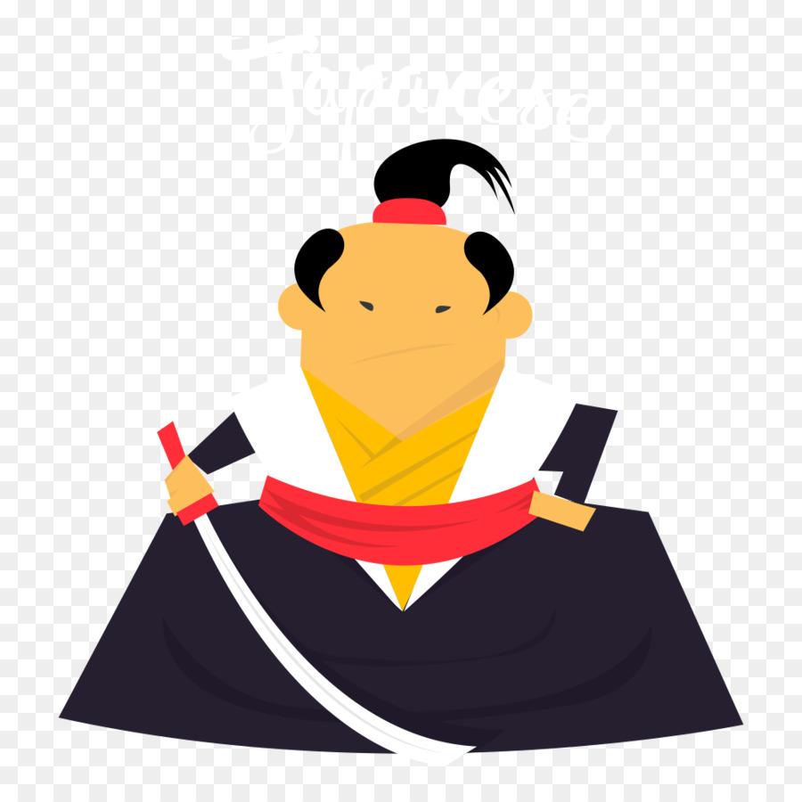 Samurai clipart. Japan clip art png