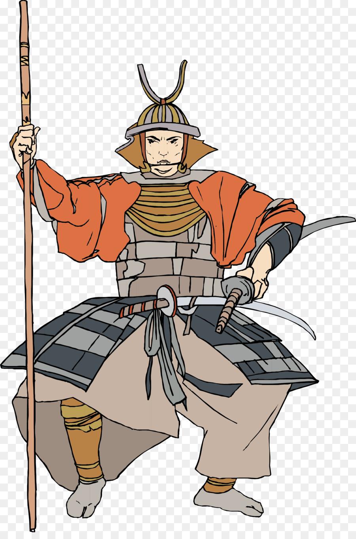 Soldier cartoon png download. Samurai clipart samurai warrior