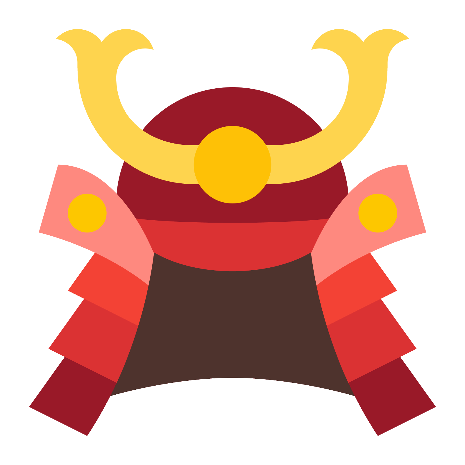 Samurai helmet png. Icon free download and