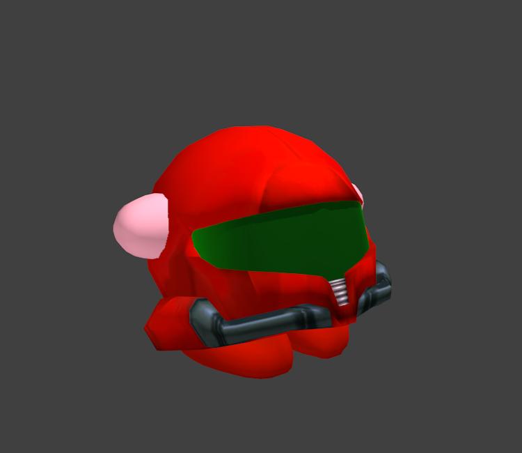Gamecube super smash bros. Samus helmet png