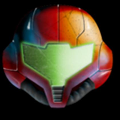 Samus helmet png. S roblox samuss